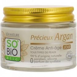 Crème anti âge argan bio