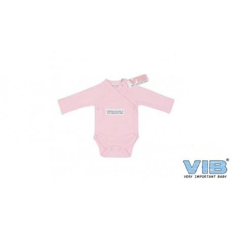 Body bébé prématuré rose